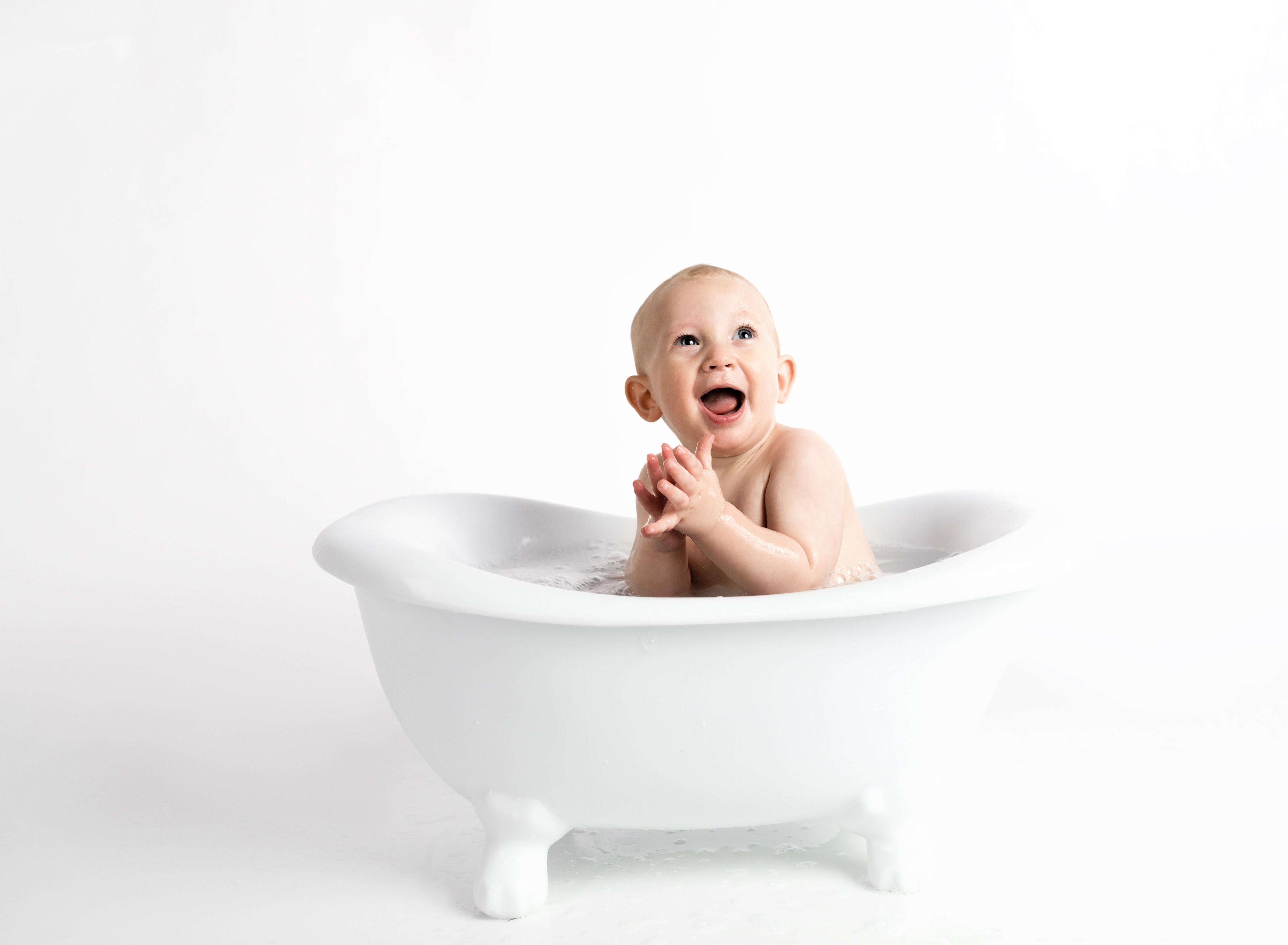 Les soins du visage bébé