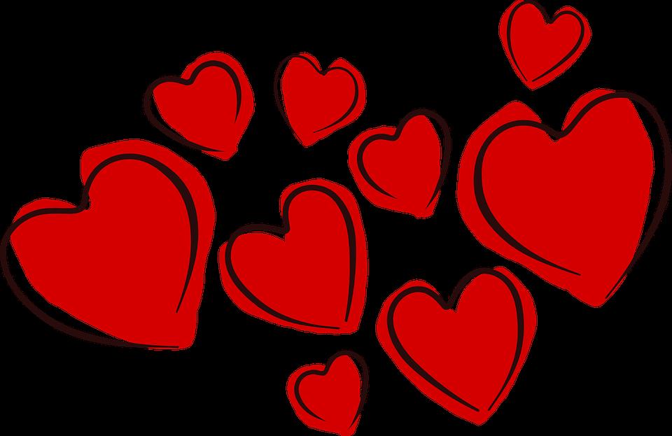 Cœurs Saint Valentin